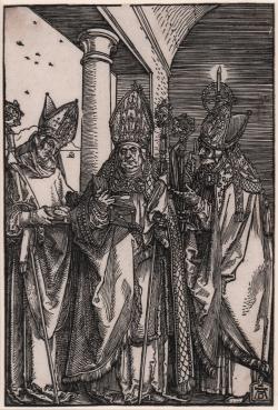 Saints Nicholaus, Ulrich...