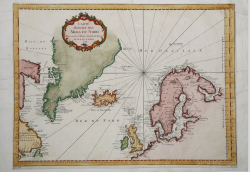 Carte Reduite des Mers du Nord