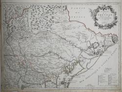 Carte du Trevisan dressée...