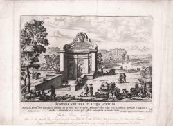 Fontana celebre d'Acqua...
