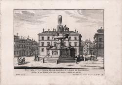 Fontana su la Piazza della...
