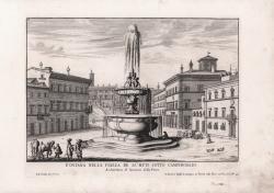 Fontana nella Piazza de'...