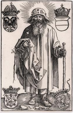 Johann Stabius as Saint...