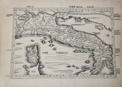 Tabula Europ. Sexta Italiae