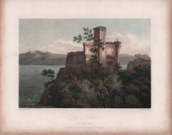 Castle of Lerici in the...