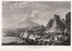 Vuë de la Ville de Taormina