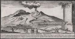 Veduta del Monte Vesuvio