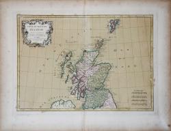 Carte du Royaume d'Ecosse