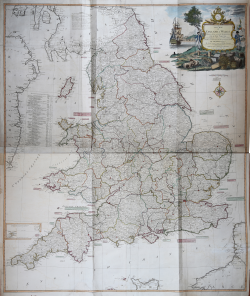 A new map of England &...