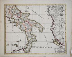 Le Royaume de Naples divise...