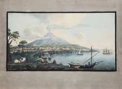 View of Mount Etna from...