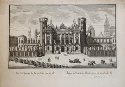Vüe du Chateau du Costè de...
