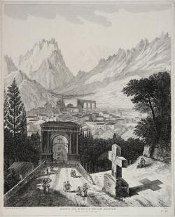 Arco di Augusto in Aosta -...