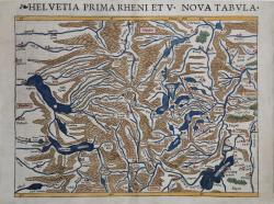 Helvetia Prima Rheni et V....