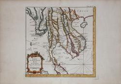 Carte des Royaumes de Siam,...