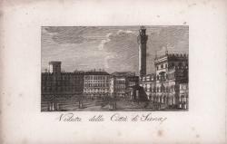 Veduta della Città di Siena